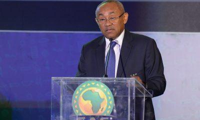 onfederation of African Football (CAF) President Ahmad Ahmad gets US Visa