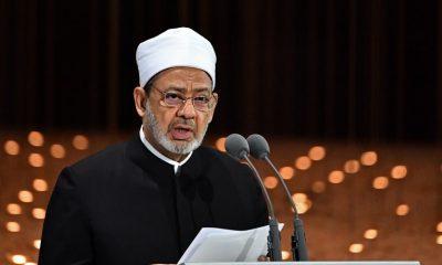 Egypt's Azhar Grand Imam Sheikh Ahmed al-Tayeb