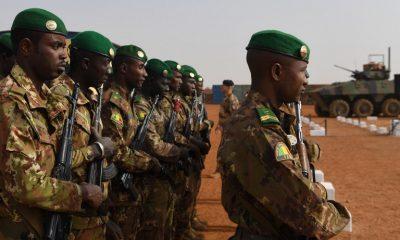 Malian troops in Gao, Mali - AFP