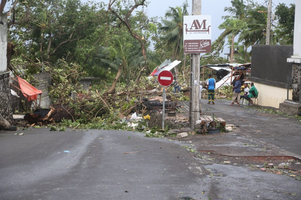 Cyclone Keneth in Mozambique