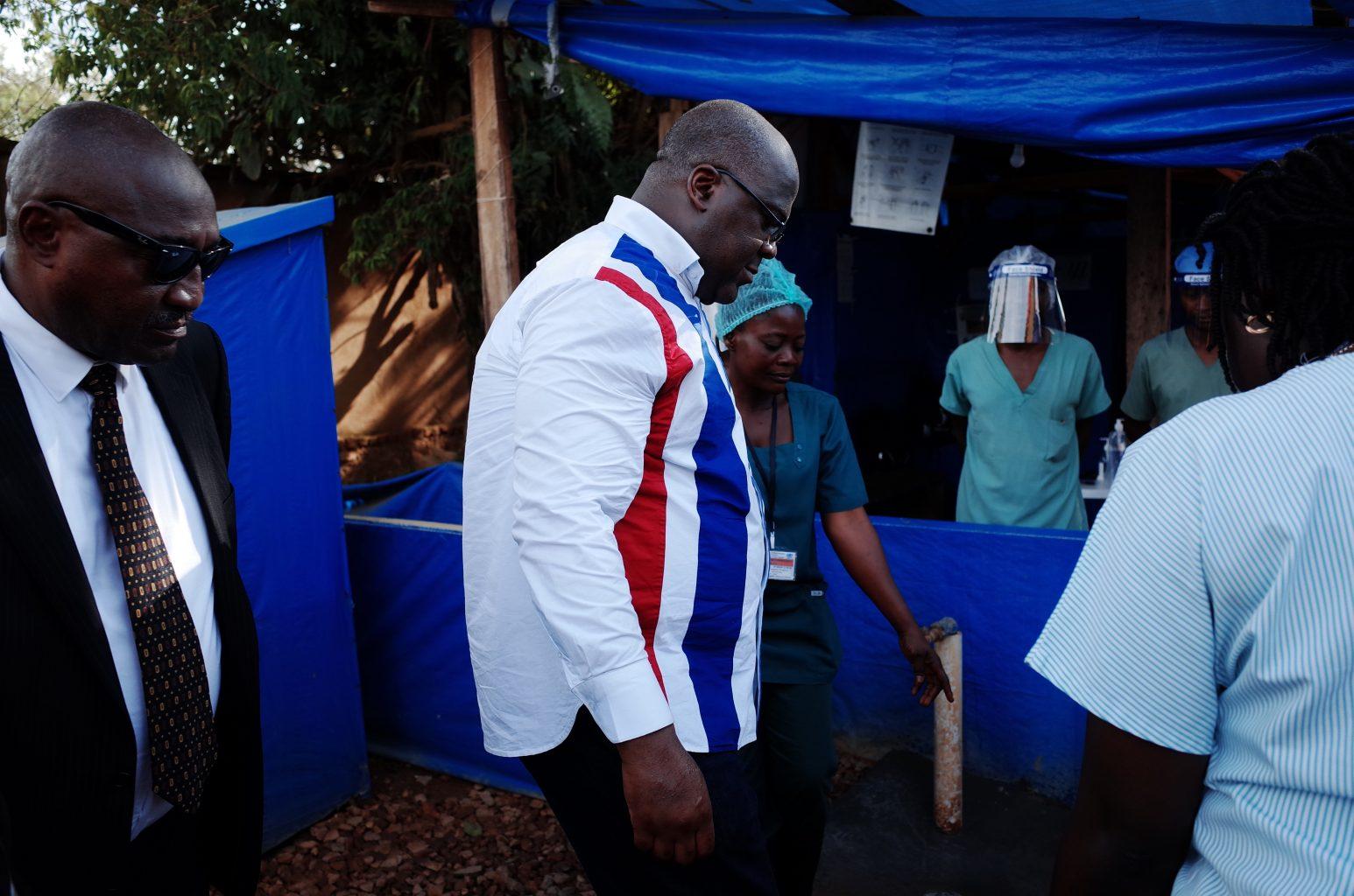Ebola outbreak in DR Congo