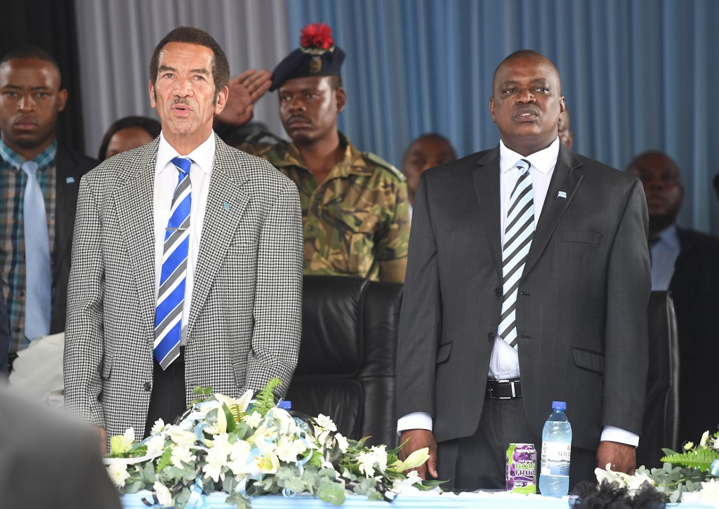 Ian Khama quits governing party over disagreements with President