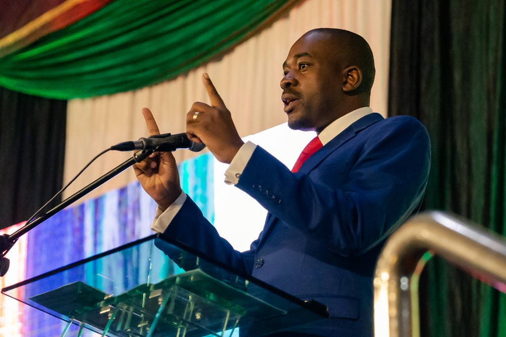 Nelson Chamisa to lead Zimbabwe's main opposition