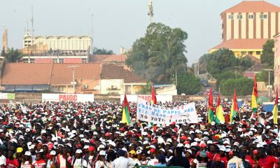 Protesters in Guinea Bissau pressure president to name prime minister