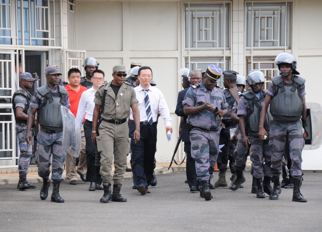 Gabon Hardwood - Authorities search for Chinese nationals
