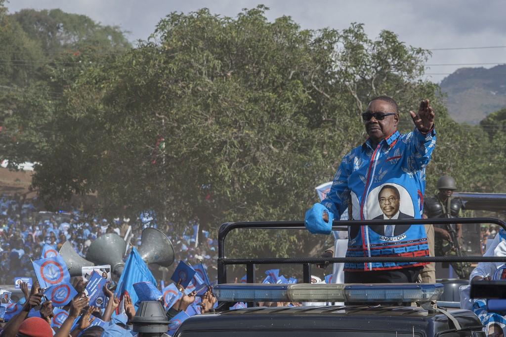 Malawis President Peter Mutharika