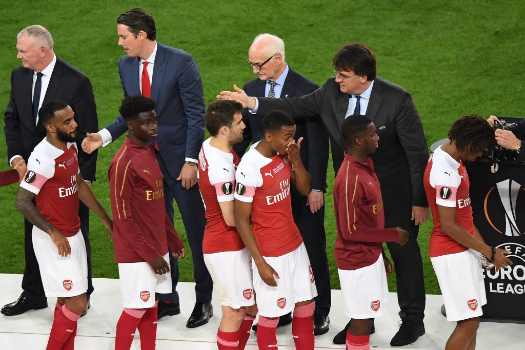 Arsenal's African contingent suffer Europa League heartbreak