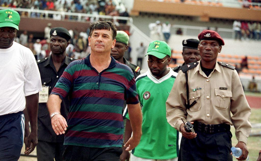 Westerhof receives reward in Abuja