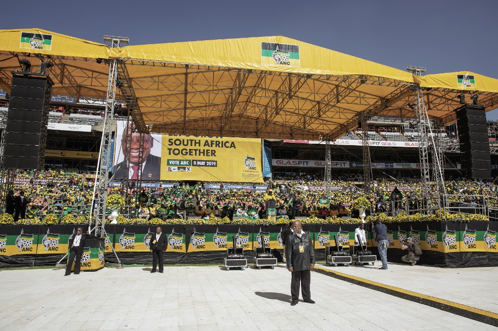 South Africa: Voters cast votes in test for ruling ANC