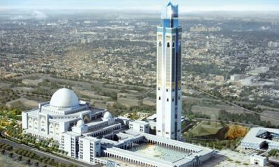 Chinese company completes Algeria mosque to set new world record