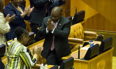 Cyril Ramaphosa elected as president by South Africa's parliament