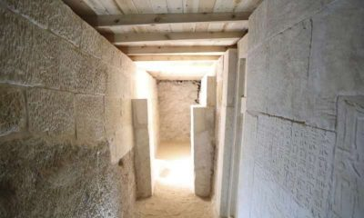 Old Kingdom cemetry uncovered in Egypt