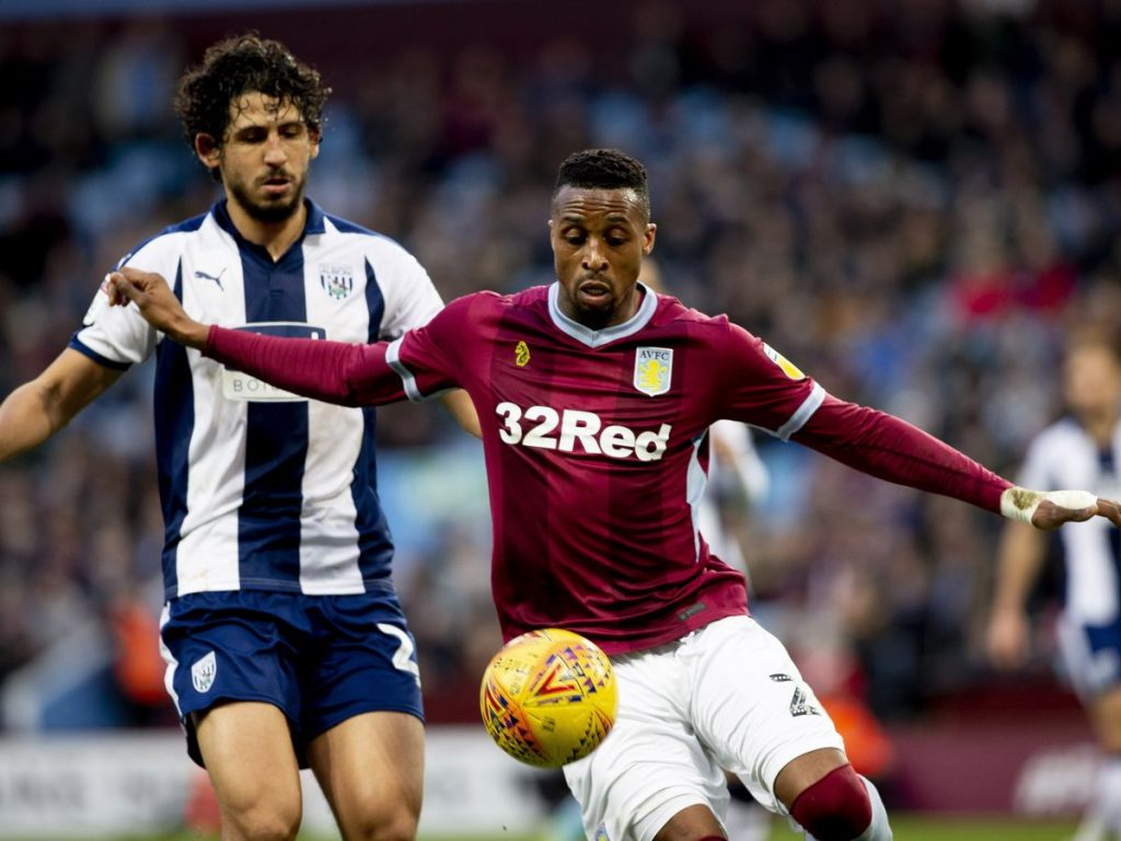 Ivory Coast's Jonathan Kodjia claims Championship play-off first leg advantage with Aston Villa