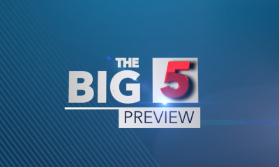 The Big 5 - Preview; May 17-19, 2019