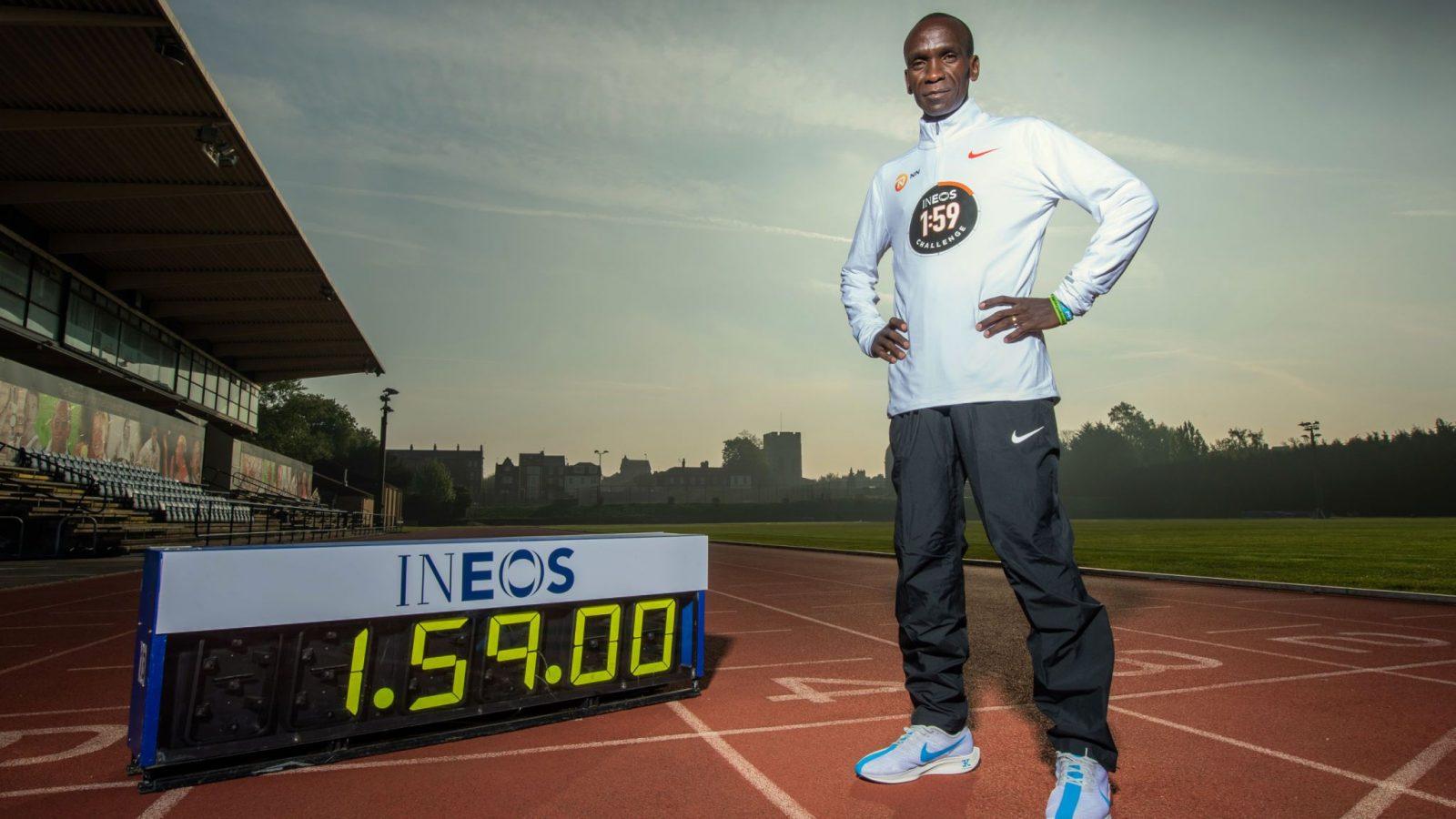Money is not behind marathon choice -Kipchoge