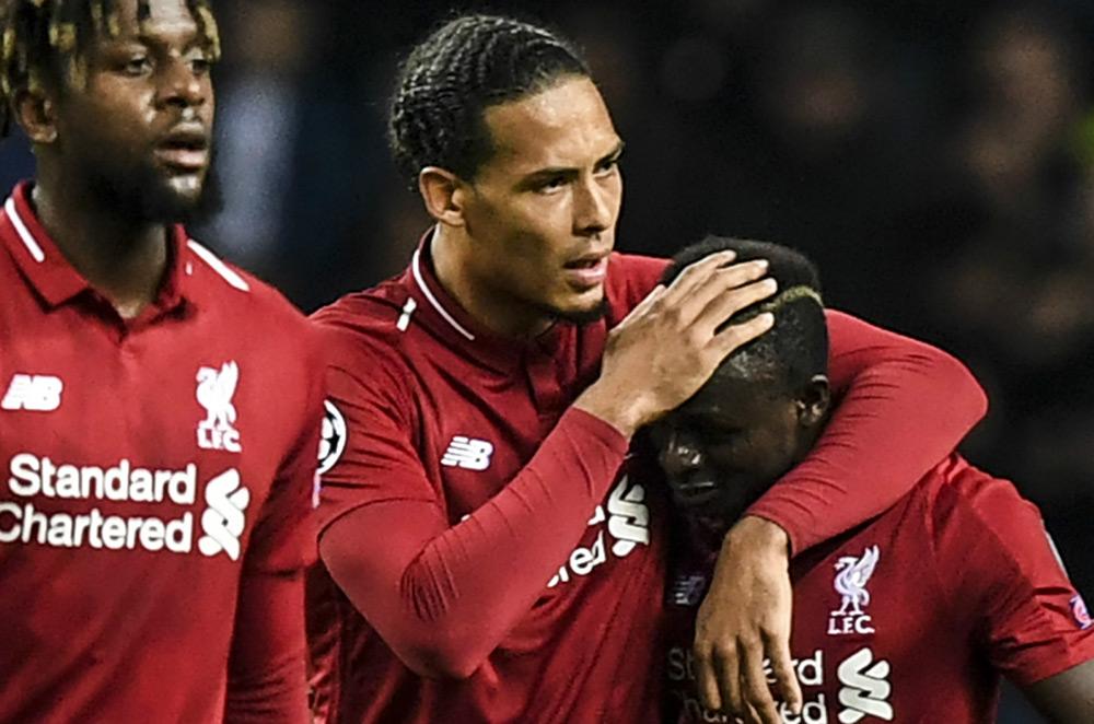 Sadio Mane and Liverpool win Barcelona