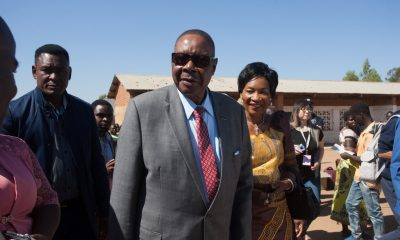 Malawi's president, Mutharika secures early lead in vote count