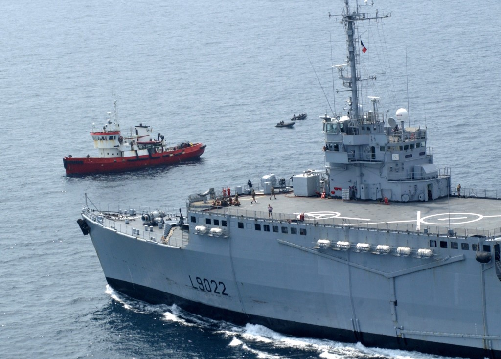 Togo Navy foil oil tanker attack by pirates