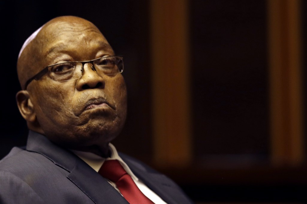South African High Court dismisses Zuma's appeal to delay corruption trial