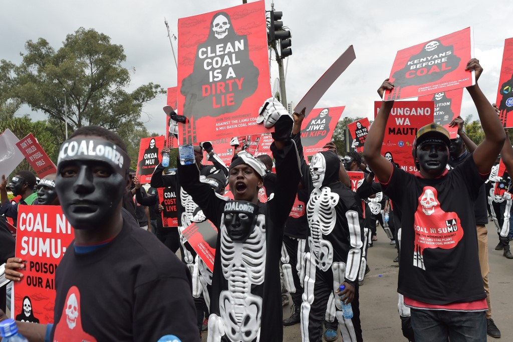 Kenyan activists reject the governments idea to construct coal-fired Lamu Power Plant