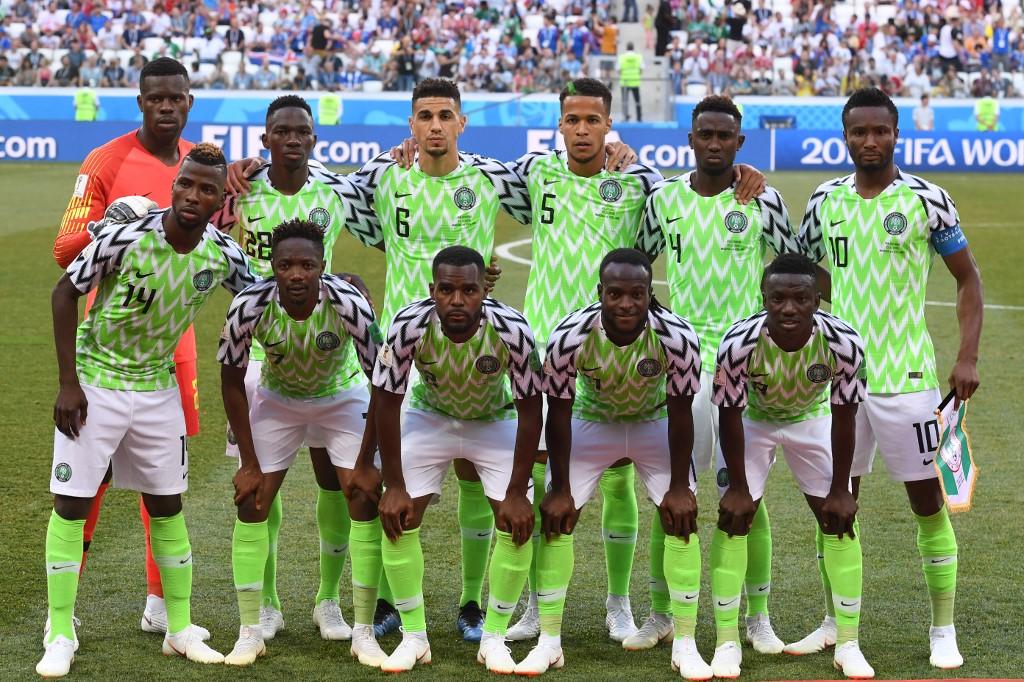 Nigeria's AFCON 2019 squad