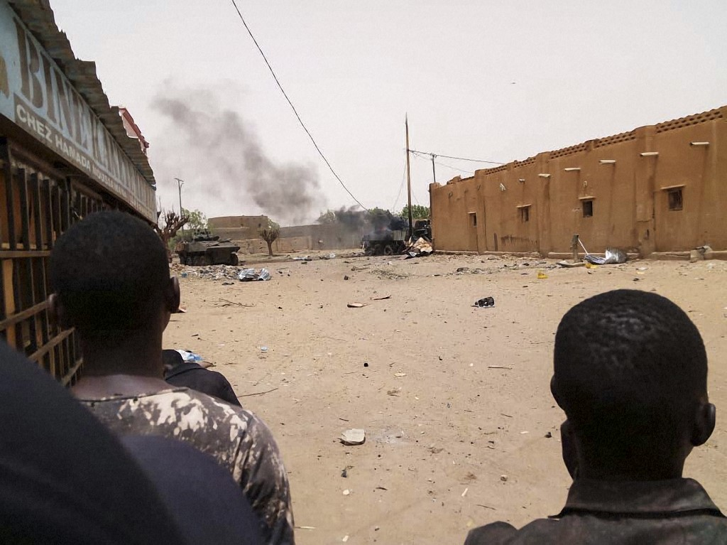 Two paramilitary officers and a soldier killed in an ambush in Mali