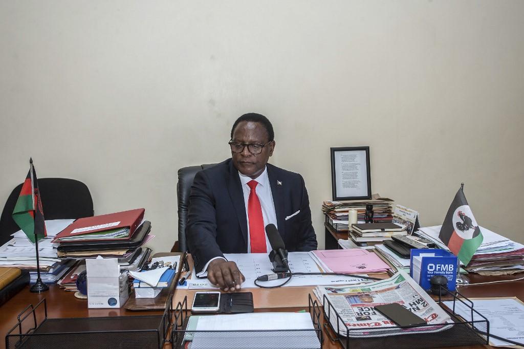 Lazarus Chakwera takes MP seat despite challenging presidential vote