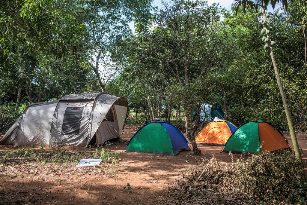 """Living quarters for the participants of an """"agro-bootcamp"""", aimed at preparing young people for a future sustainably working the land"""