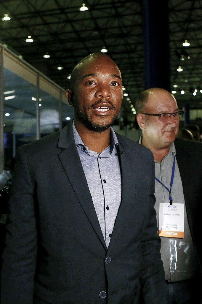 South African main opposition party Democratic Alliance (DA) leader Mmusi Maimane