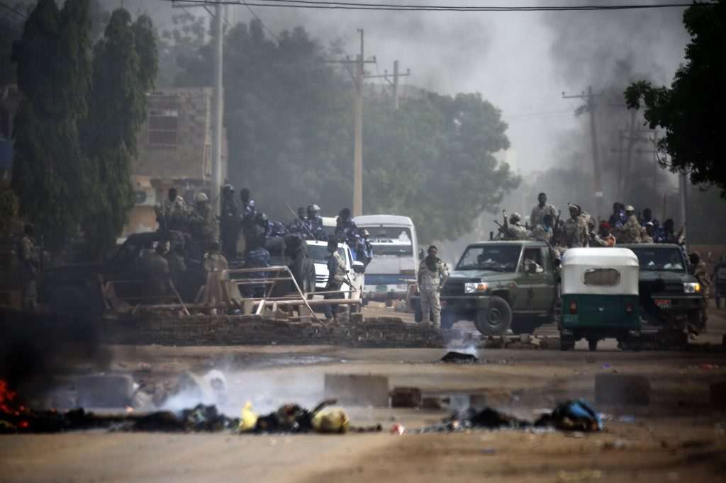 Sudan's military-protesters clash casualty rises to 13