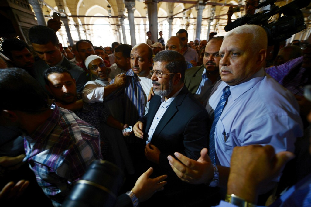 eight people arrested and detained by egyptian authorities