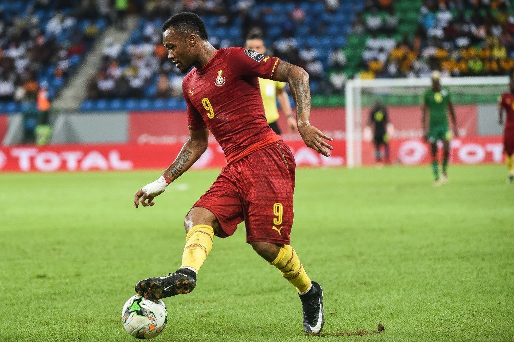 Jordan Pierre Ayew during the last Africa Cup of Nations