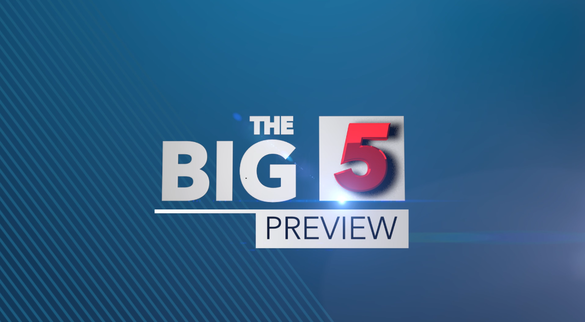 The Big 5 - Preview; June 7- June 9, 2019 | News Central TV