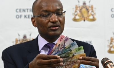Kenya's apex bank governor says weak Kenyan Shilling not linked to banknote plan
