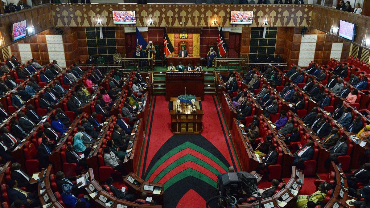 Kenyan police detain MP for slapping female colleague
