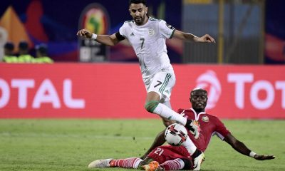 Riyad Mahrez stars as Algeria ease past Kenya