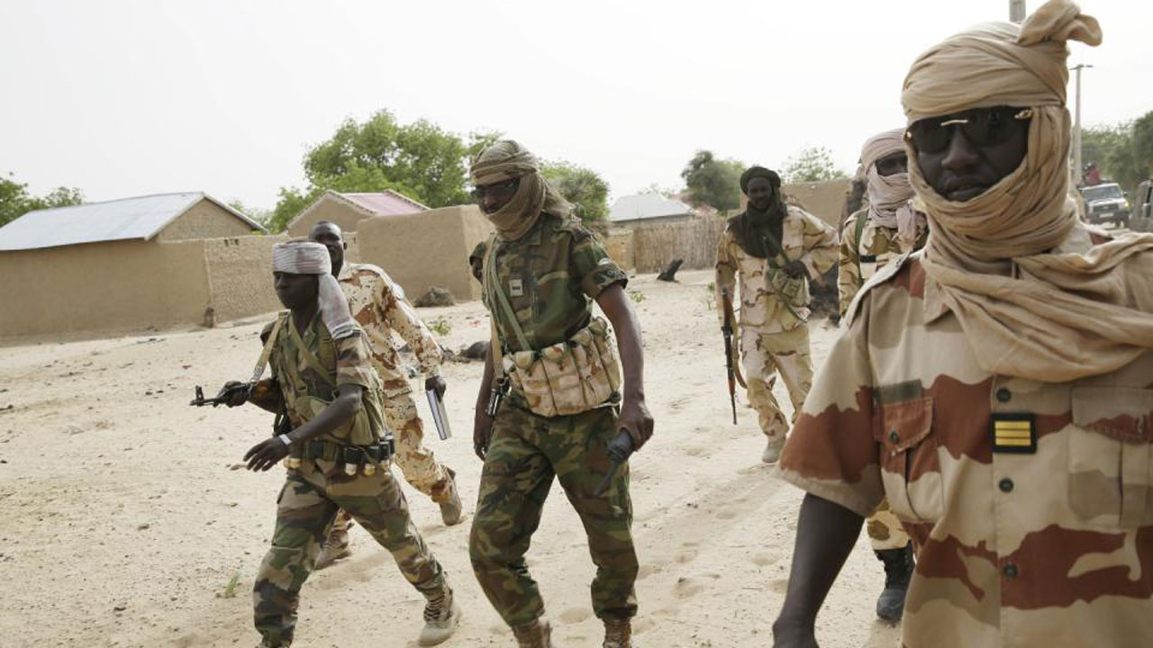 Niger forces kill four suspected suicide bombers near fuel depot