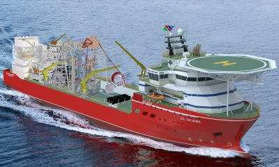 African banks to finance World's biggest marine diamond mining vessel