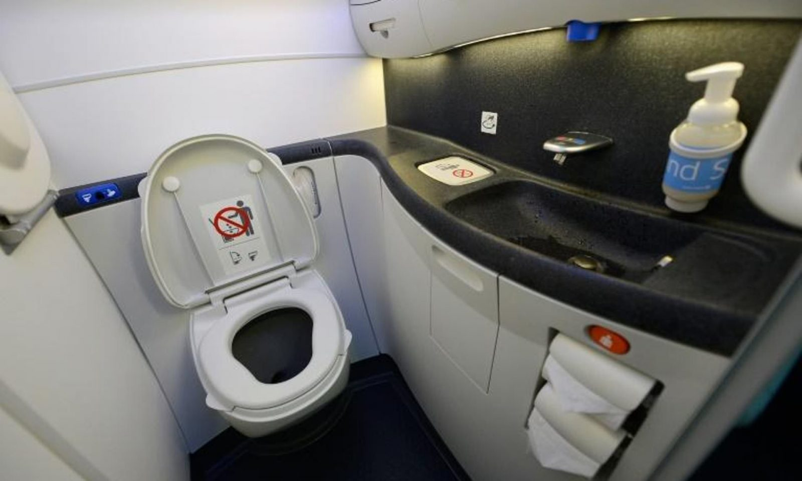 Airline cleaners find abandoned foetus clogging plane's toilet in South Africa