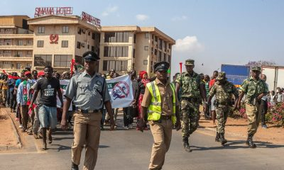 Malawi police fire teargas on US ambassador, opposition protesters in Lilongwe
