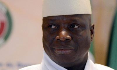 Former Gambian President, Yahya Jammeh accused of ordering migrant slaughter