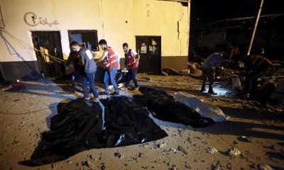 airstrike on Libya migrant centre kills 40
