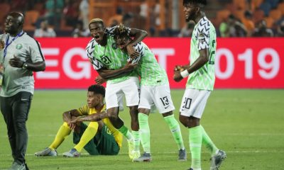 Nigeria defeat South Africa to seal AFCON 2019 semi-final spot