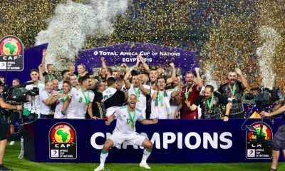 Algeria emerge AFCON 2019 champions after win over Senegal