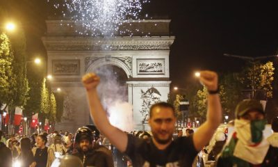 French police arrest 282 in riotous celebrations after Algeria football win