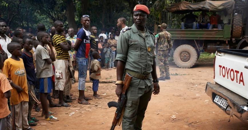 Violence rocks Central African Republic after killing of vendor