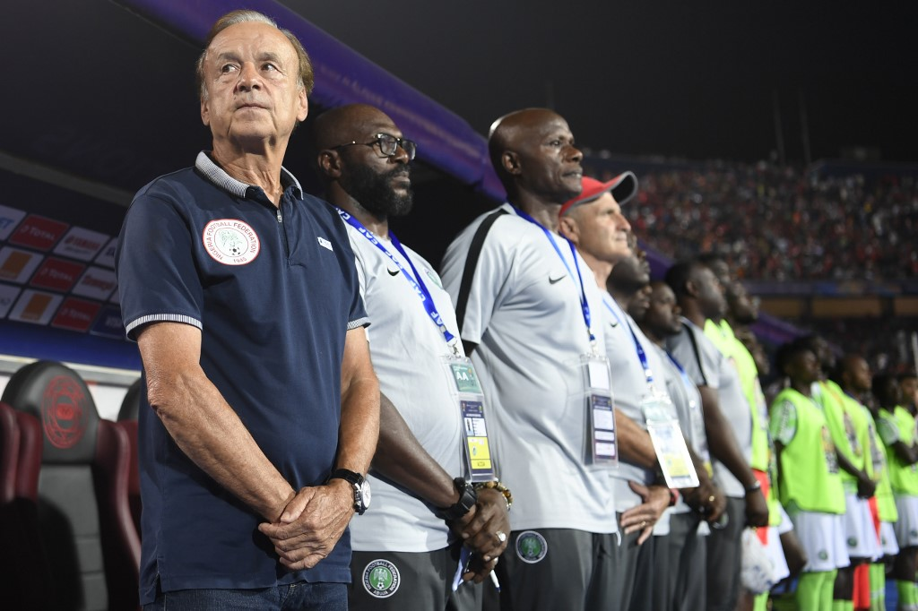Rohr optimistic about future of Nigeria's youthful Super Eagles