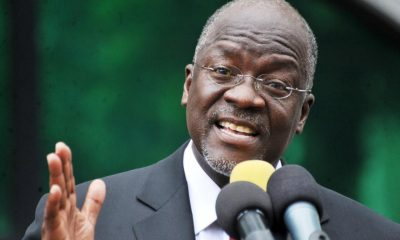 Tanzanian President Magufuli downplays fears over dam in conservation park