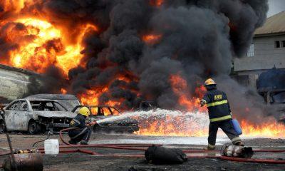 Petrol pipeline fire kills two in Nigeria