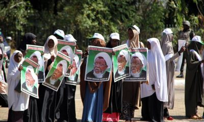 Who are the Shi'ite protesters in Nigeria and what do they want?